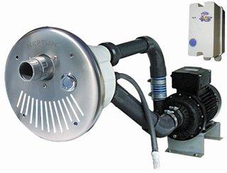 Neptun Gegenstromanlage Serie ST 900 V4A mit Vormontagesatz
