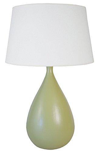 Tosel 64642 Kalamaria, Céramique/Coton, Vert/Blanc, 500 x 800 mm