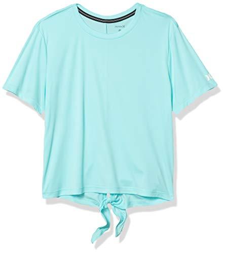 Hurley - Camiseta para mujer, diseño de nudo híbrido - - Small