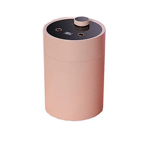 USB Desktop Humidifier Waterless Double Spray Cool Mist Humidifiers Bedroom Quiet Mini Air Purifier,600ml household humidifiers,4 gear mist modes, Waterless Auto Shut-Off