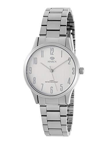 Reloj Marea Analógico Mujer B41242/1 Armis Acero y Esfera Blanca