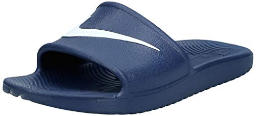 Nike Herren Kawa Shower Dusch-& Badeschuhe, Blau (Midnight Navywhite 400), 44 EU