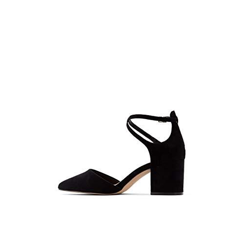ALDO Women's Brookshear Block Heel Pump Dress Shoes, Black, 6.5