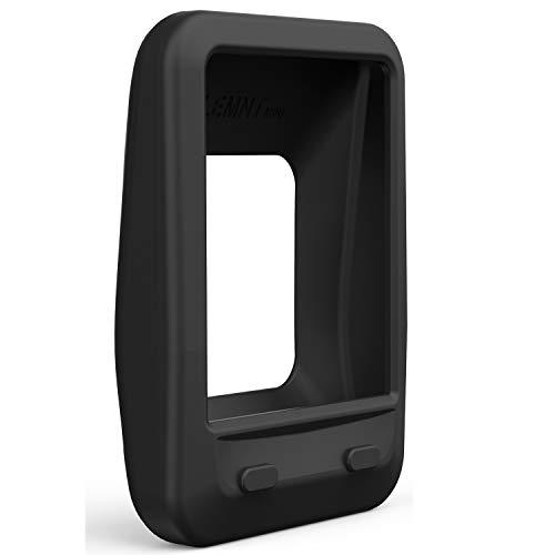 TUSITA funda de piel de silicona con protector de pantalla para Wahoo Elemnt Mini funda de bicicleta GPS para computadora (NEGRO)