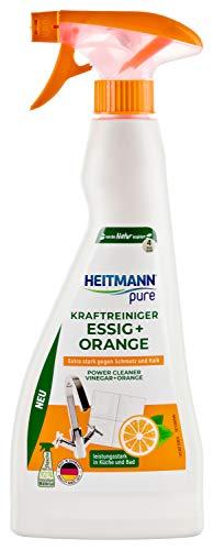 HEITMANN pure Kraftreiniger Essig Orange, 500 g