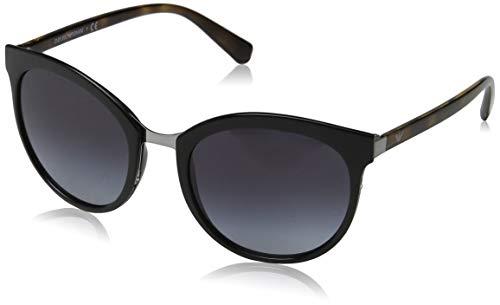 Emporio Armani Damen 0ea2055 30108g 55 Sonnenbrille, Schwarz (Black)