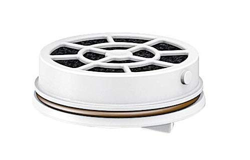 Laica Filtro Fast Disk per Bottiglia Filtrante, Brevettato a Carboni Attivi, 100% Made in Italy, Filtrazione Istantanea, Durata 1 Mese/120 L, Confezione da 6 Filtri, 6 Unità