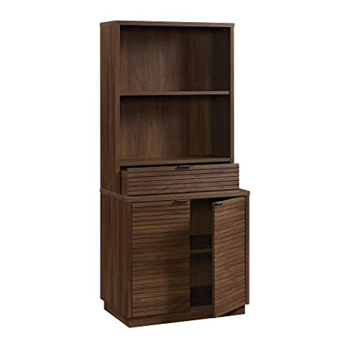 Sauder 426909 Englewood Utility Stand/Library Base, Spiced Mahogany