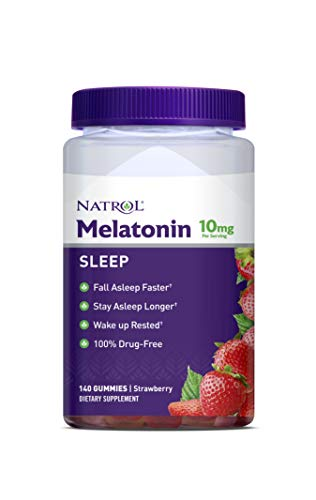 Natrol Melatonin 10mg Gummy, 140 Count