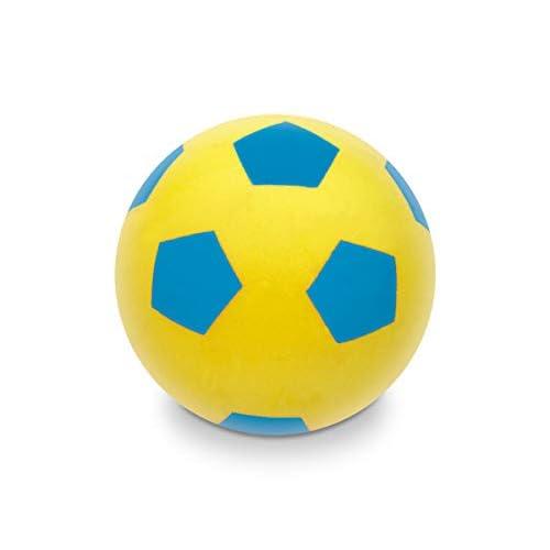 Mondo-07852 Mondo Toys-Pallone di Spugna per Bambini-Palla Morbida per Giocare in casa-07852, Multicolore, Taglia Unica, 07852