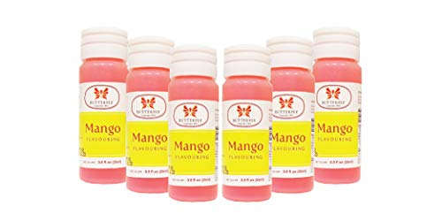 Butterfly Flavoring Extract Paste, 25 ml (Mango, Pack of 6)