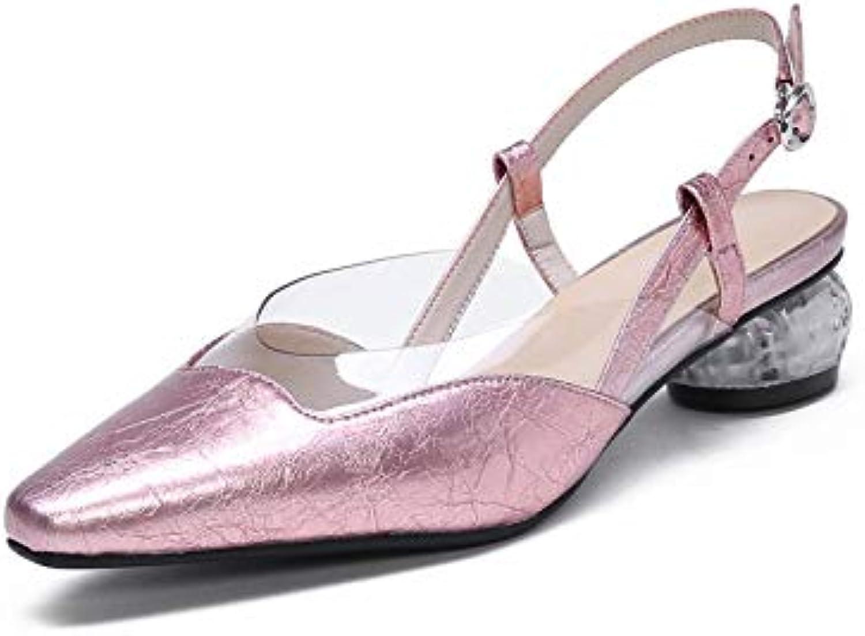 MENGLTX High Heels Sandalen 2019 Neue Ankunft Frauen Pumpt Hochwertige Lackleder Schuhe Mode Sommer Kleid Schuhe Damen Büro Schuhe