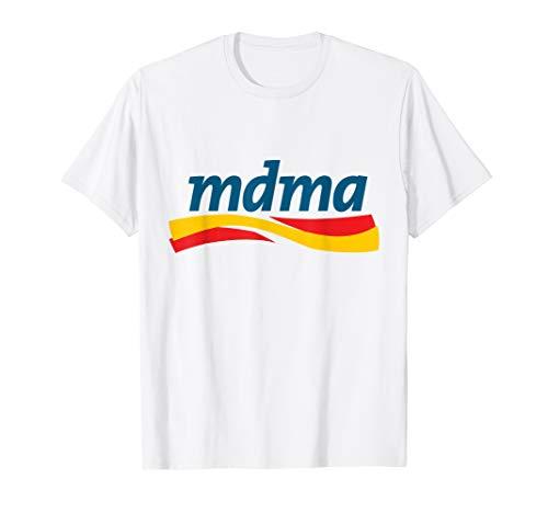 MDMA Shirt Lustiges Drogen TShirt Festival Pillen Teile T-Shirt