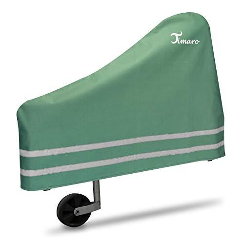 TIMARO universal Deichselhaube Grün | Deichselabdeckung Deichselschutz für Anhänger XL Deichselhülle für Pferdeanhänger & Wohnwagen | Wetterschutz Plane - car e Cover große Schutzhülle Haube