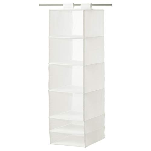 IKEA 403.000.49 Organizador con Compartimentos, Color Blanco