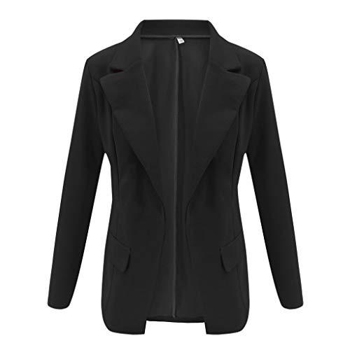 Brizz Damesjack, korte mantel vrouwen losmaken aantrekkelijk bovenkant lange mouwen casual jasdames kantoor slijtvaste jas blouse mode klein pak jasje