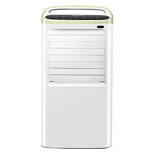 GGYMEI-Aire acondicionado portátil Solo Frío, Material De Plástico Frío Interior De Aire del Refrigerador De Aire Móvil, Tanque De Agua 8L, Potencia 85W (Color : White, Size : 38.3x33.5x78.5cm