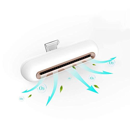 【無料配送】オゾン脱臭機 小型イオン発生器 ミニ空気清浄機 オゾン発生器 強力消臭 フィルター交換不要 マイナスイオン搭載 USB充電式 省エネ 静音 消臭 除菌 日本語説明書付き【3日以内到着・1年間保証】