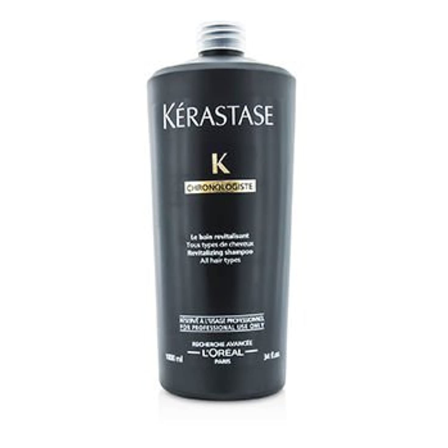 恐れる論理的にうなる[Kerastase] Chronolgiste Revitalizing Shampoo (For All Hair Types) 1000ml/34oz