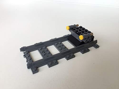 LEGO City Eisenbahn Prellbock, inkl. 1 gerade Schiene (aus 60198)