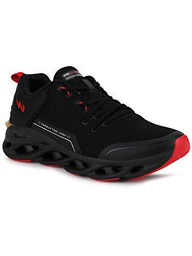 Campus Men's Geneva BLK/RED Running Shoes