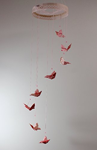 Movil mariposas origami