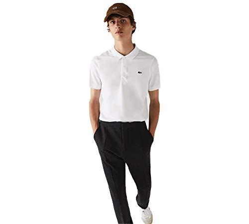 Lacoste DH2881 Camisa de polo, Blanc/Blanc, 5XL para Hombre