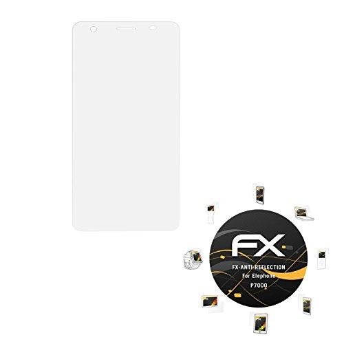 atFoliX FX-Antireflex P7000 Klare Displayschutzfolie 3Stück(e) - Displayschutzfolien (Klare Displayschutzfolie, Elephone, P7000, Kratzresistent, Transparent, 3 Stück(e))