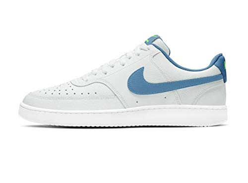 Nike Court Vision LO, Zapatos para Correr para Hombre, Photon Dust/Thunderstorm/Ghost Green, 47 EU