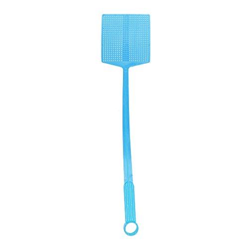 Insecte Main Tapette à Mouche Bogue Tueur De Moustique Contrôle Guêpe Parasite - Bleu