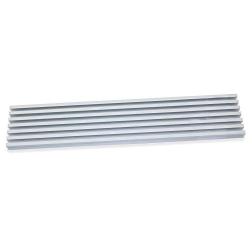 EMUCA 8934862 ventilatierooster voor koel-/oven, aluminium, geanodiseerd, mat