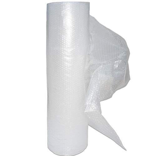 Beufirst Papel burbuja. Rollo de papel de burbuja de 1mt de ancho x 25mt de largo (1mt x 25mt). Alta protección para mudanzas, embalajes, transporte y productos frágiles