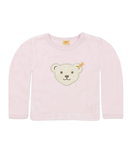 Steiff Unisex - Baby Sweatshirt Classics Nicky 0002881, Gr. 68, Rosa (barely pink 2560)