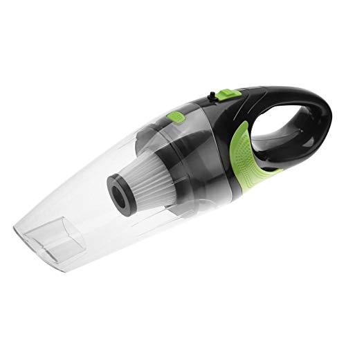 Nannigr Aspiradora, Aspiradora De Coche Alta Potencia De Limpieza, Aspiradora Recargable para Coche Doméstico Al Aire Libre(Blanco)