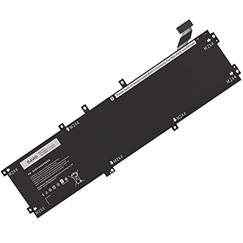 YXXM 4GVGH Batteria per notebook per Dell Precision 5510 M5510 XPS 15 9550 Series Batteria per notebook RRCGW 1P6KD T453X 5XJ28 T453X 062MJV M7R96 Batteria (11,4 V 84 Wh)
