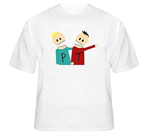 South Park Terrance and Phillip T Shirt L White