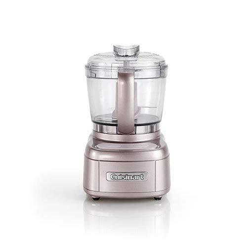 Cuisinart ECH4PE Mini Tritatutto, Capacità 900 ml, Lame in acciaio inox, due sensi di rotazione, design compatto, funzione Pulse, Sistema BladeLock di sicurezza, Accessori lavabili in lavastoviglie