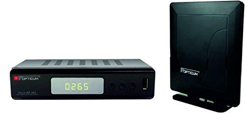 Opticum Terra HD 265 DVB-T2 H.265/HEVC Full HD-ontvanger. 4251106902675