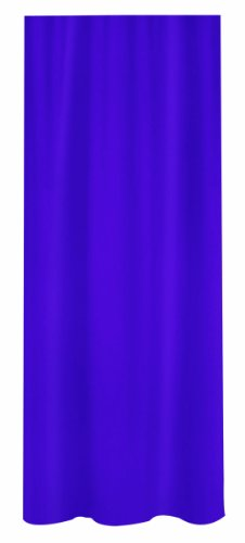 Spirella Primo douchegordijn, textiel/polyester, 180 x 200 cm, paars