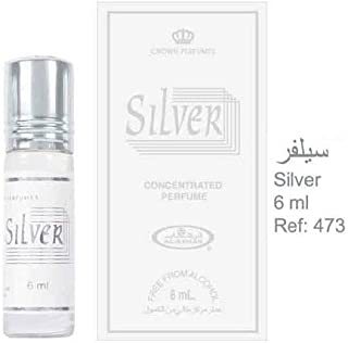 Silver - 6ml (.2 oz) Perfume Oil by Al-Rehab
