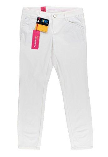 ALBERTO Mona 3xDRY Cooler Golfhose Damen weiß 32