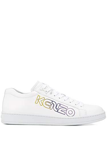 Kenzo Luxury Fashion Herren FA55SN132L7701 Weiss Sneakers |