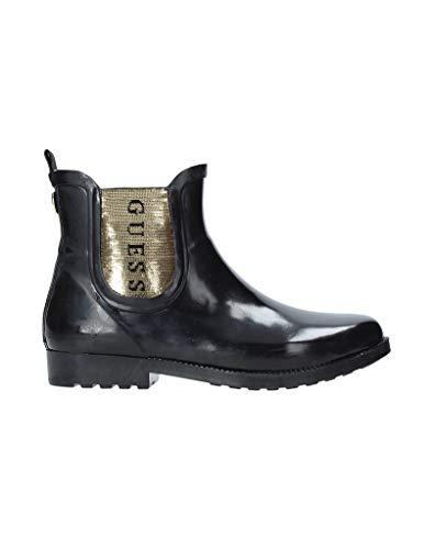 Guess Boots Black FL7RK3RUB10, Schwarz - Schwarz - Größe: 41 EU