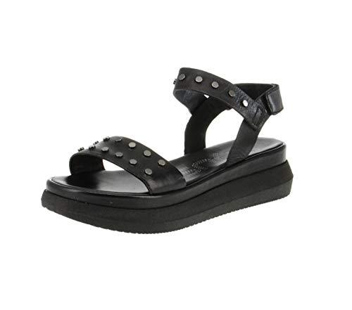 Mjus M38016-0101-6002 - Damen Schuhe Sandaletten - Nero, Größe:39 EU