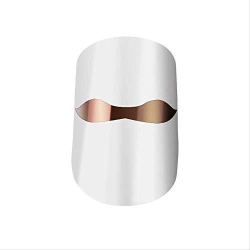 Schoonheidsmasker Led Masker 3 Kleur Transparant Masker Led Masker Therapie Facial Photons Gezond Huidverjonging Collageen Anti-aging