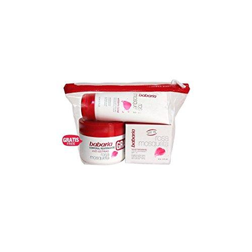 Babaria Rosa Mosqueta Neceser Lote Tratamiento Facial - 4 Piezas