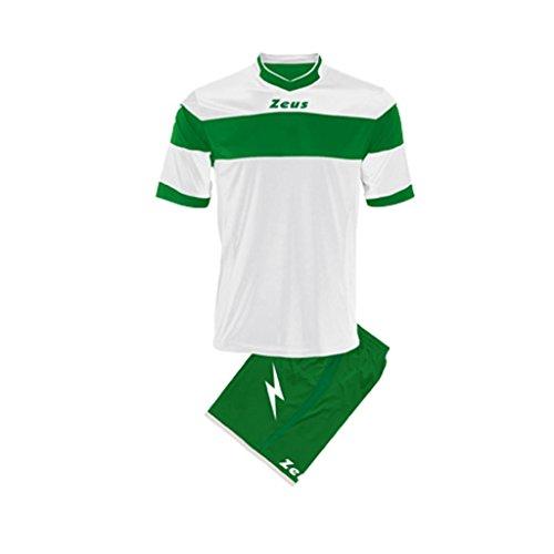 Zeus Completo Sportivo Apollo Bianco-Verde Taglia L