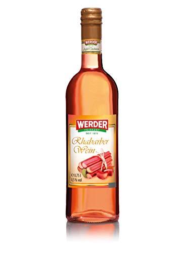WERDER Rhabarber Wein 0,75L - Alk. 8,5% vol