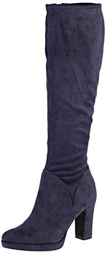 Tamaris Damen 1-1-25522-23 Hohe Stiefel, Blau (Navy 805), 36 EU