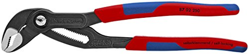Knipex 8702250 10-Inch Cobra Pliers - Comfort Grip